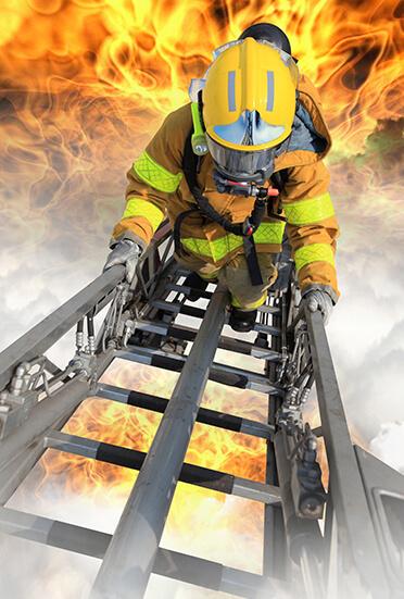 Dwelling fire banner